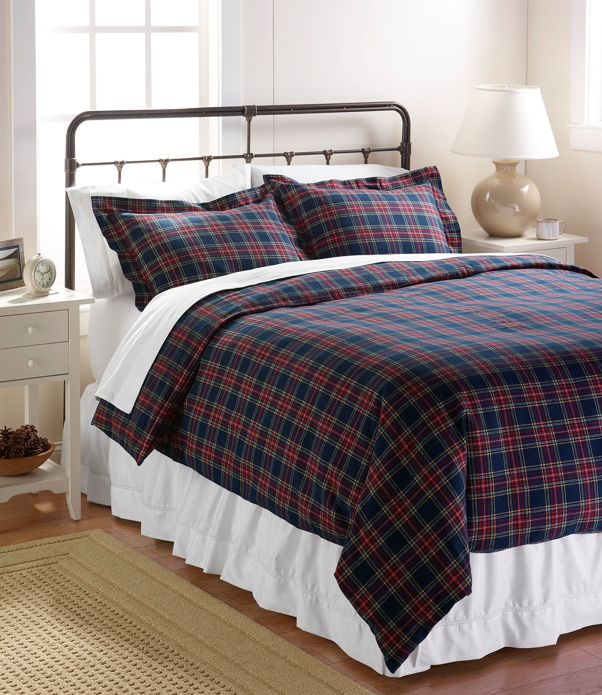 Heritage Chamois Flannel Comforter Cover Collection Comforter
