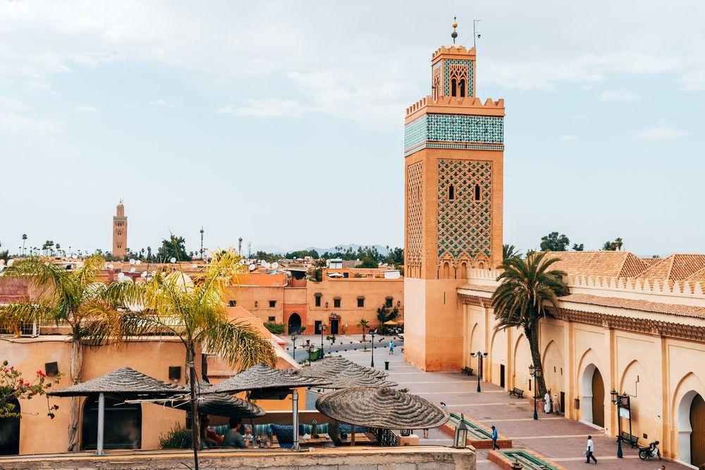 Plaza de Yamaa el Fna en Marrakech.