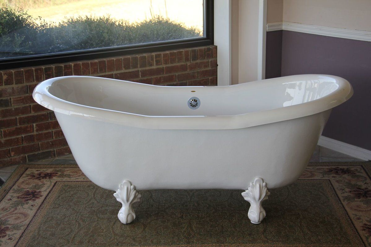 Duchess 68 X 30 Clawfoot Soaking Bathtub In 2020 Soaking Bathtubs Clawfoot Tub Slipper Tubs