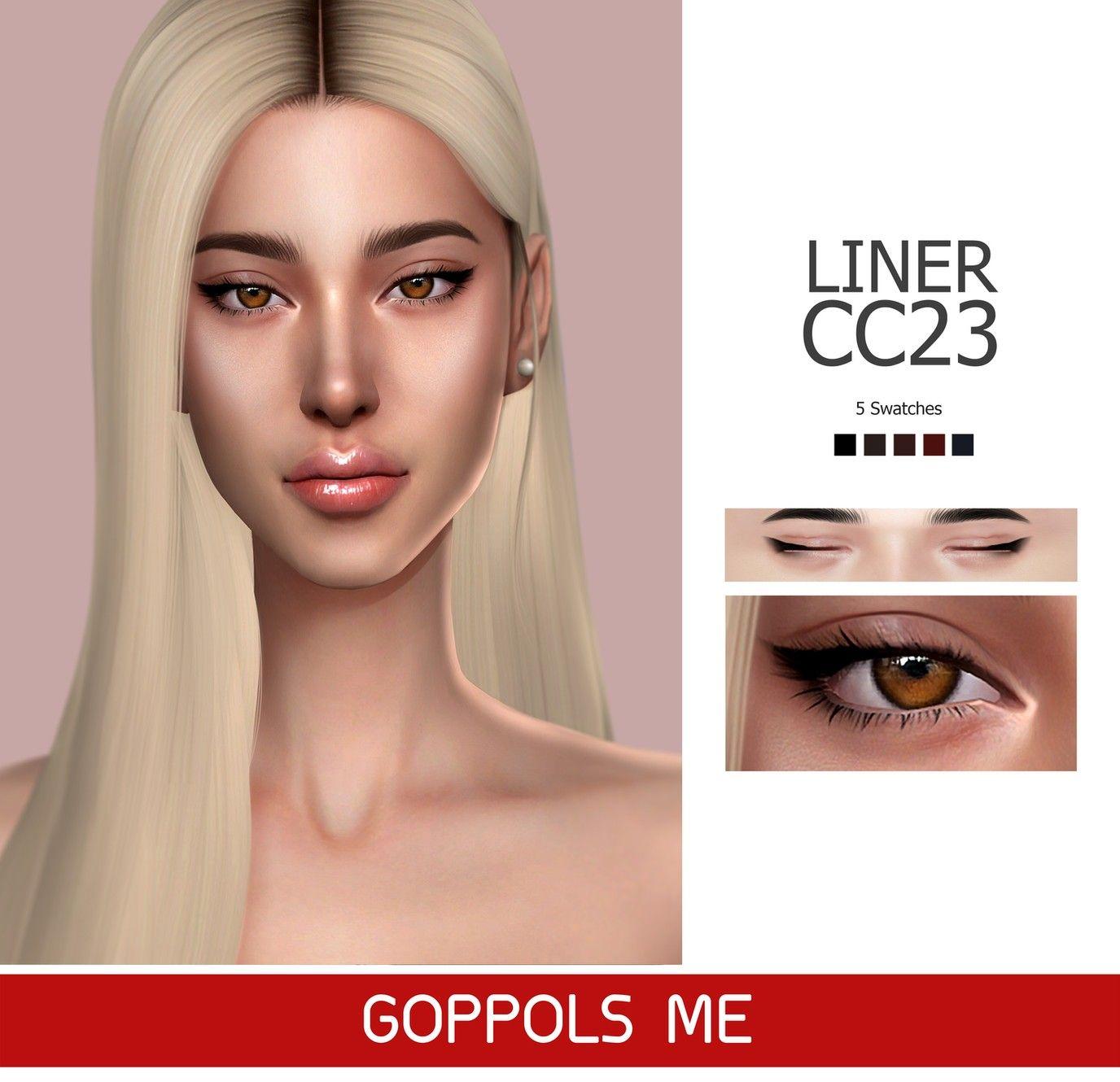 Single post Colorful eyeshadow, Glossy eyes, Sims 4 cc