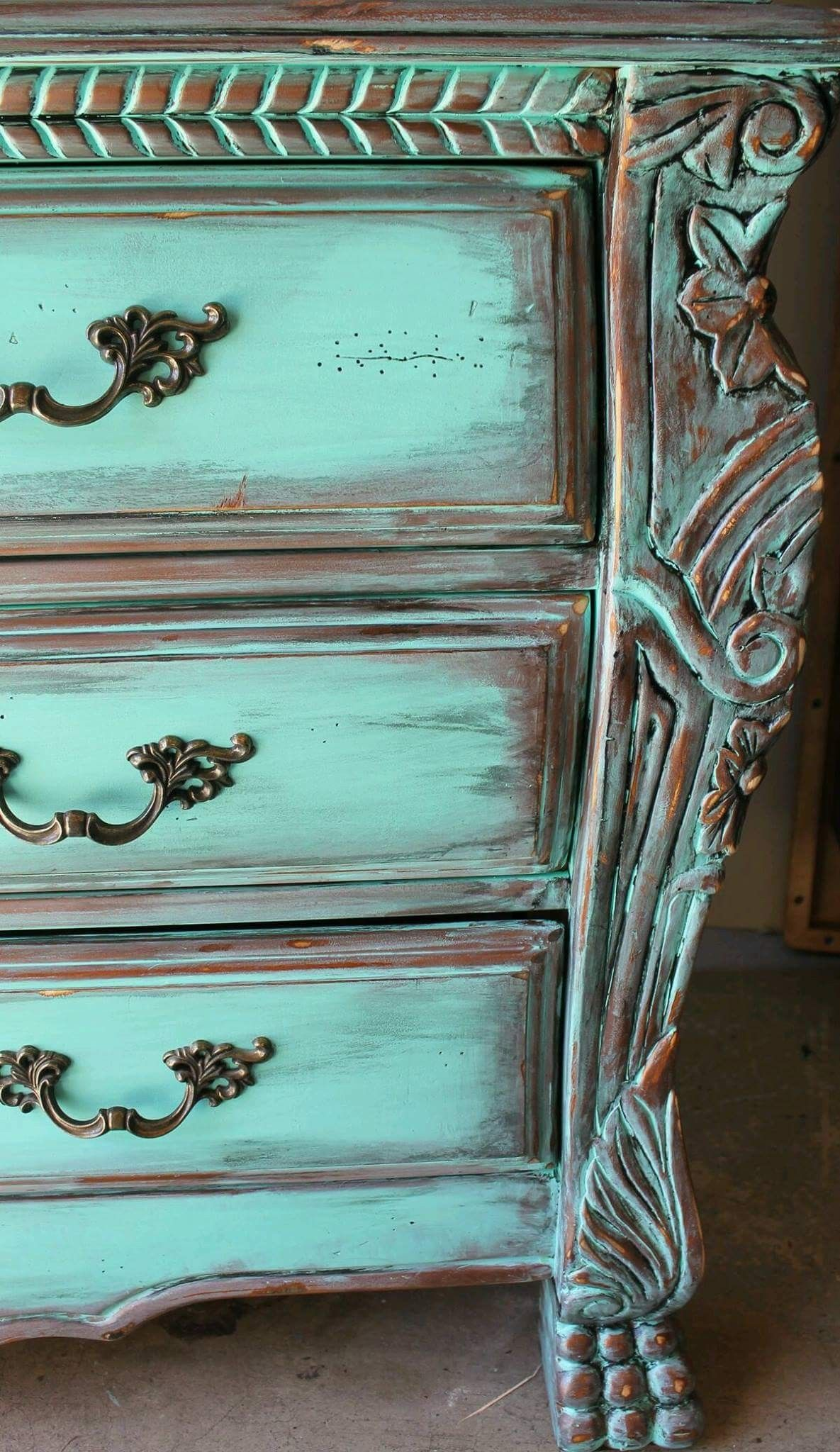 Uncategorized Turquoise Shabby Chic Furniture pin by martina on komoda pinterest chalk paint aqua turquoise distressed french armoire dresser with aged copperebony patina the best of shabby chic in home decoration interior de