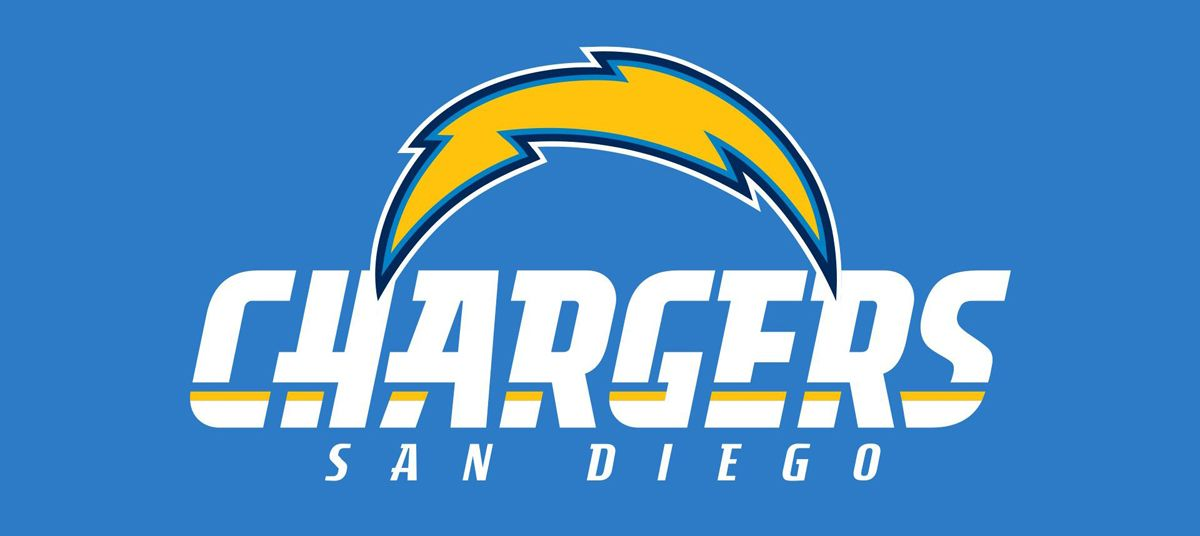 History of san diego chargers logo