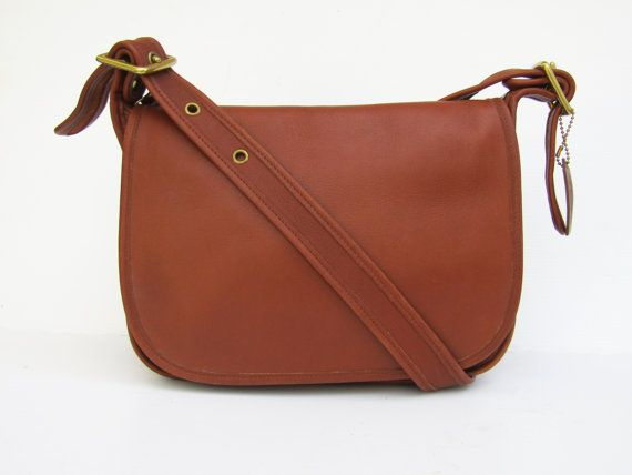... Shoulder Bag Vintage Coach Bag Leather Saddle Bag in British Tan by  FeelsFree Vintage Authentic Coach NYC ... c4740f8debdb7