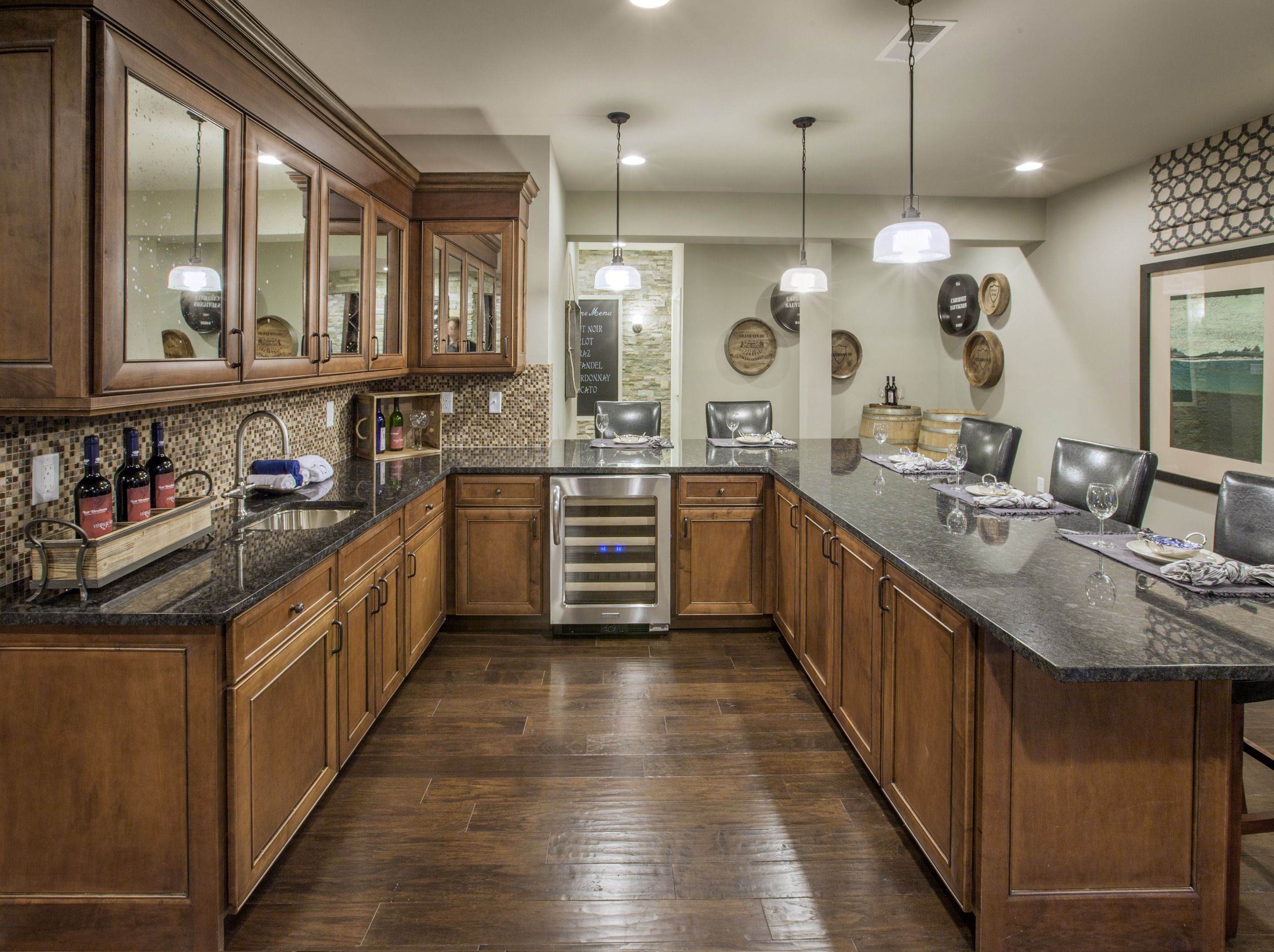 Armstrong Kitchen Flooring A Closer Kitchen View Of The Brookfield Model Home Where American