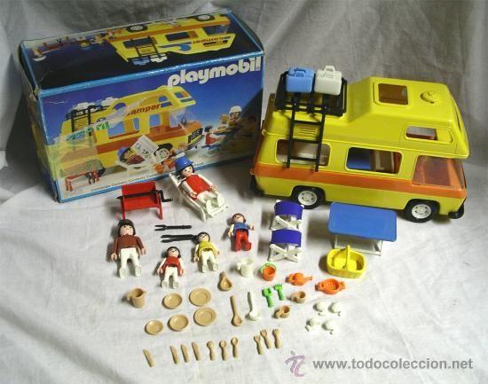 Playmobil autocaravana espinete pinterest for Autocaravana playmobil