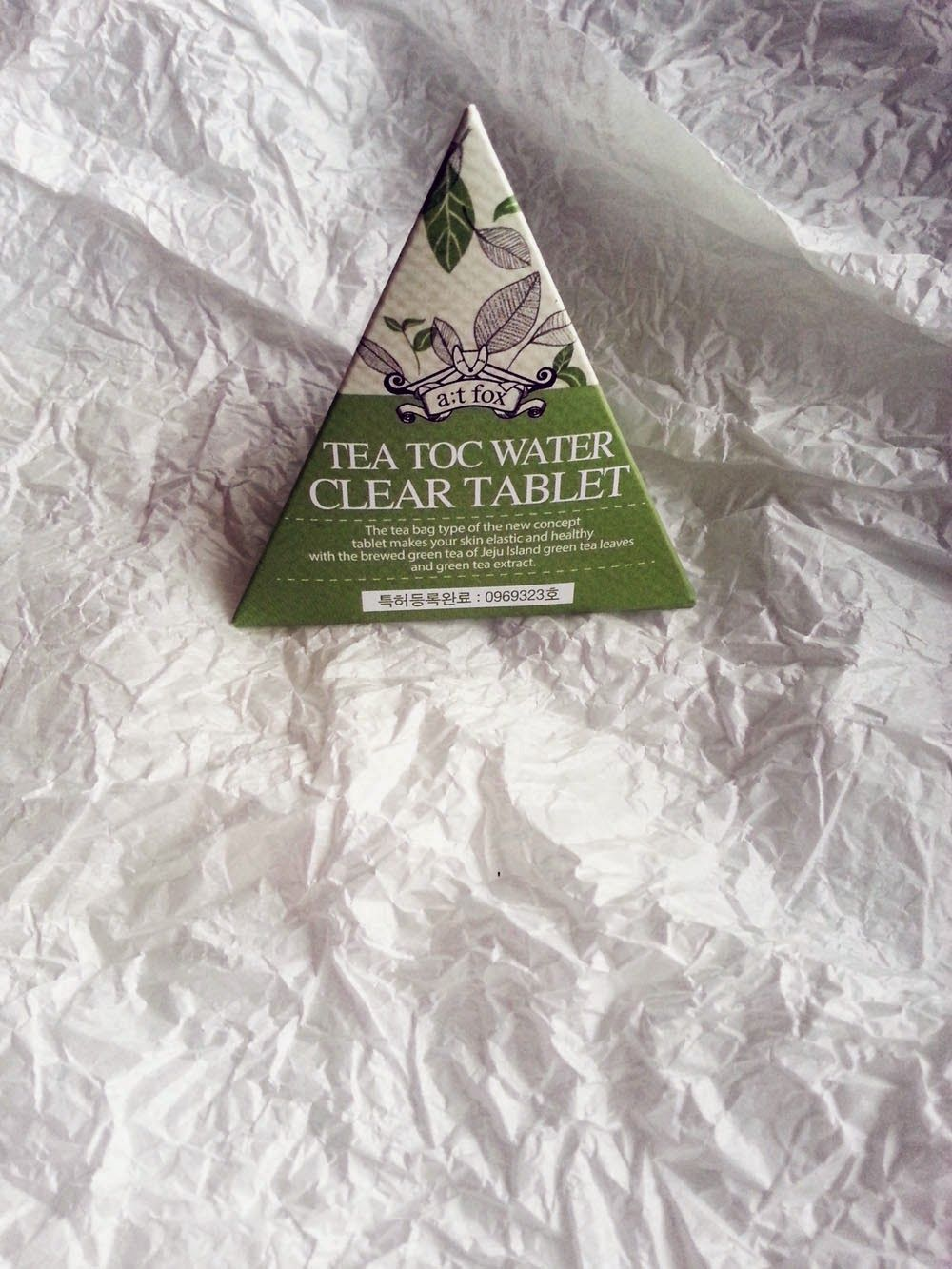 A;T FOX Tea Tox Water Clear Tablet