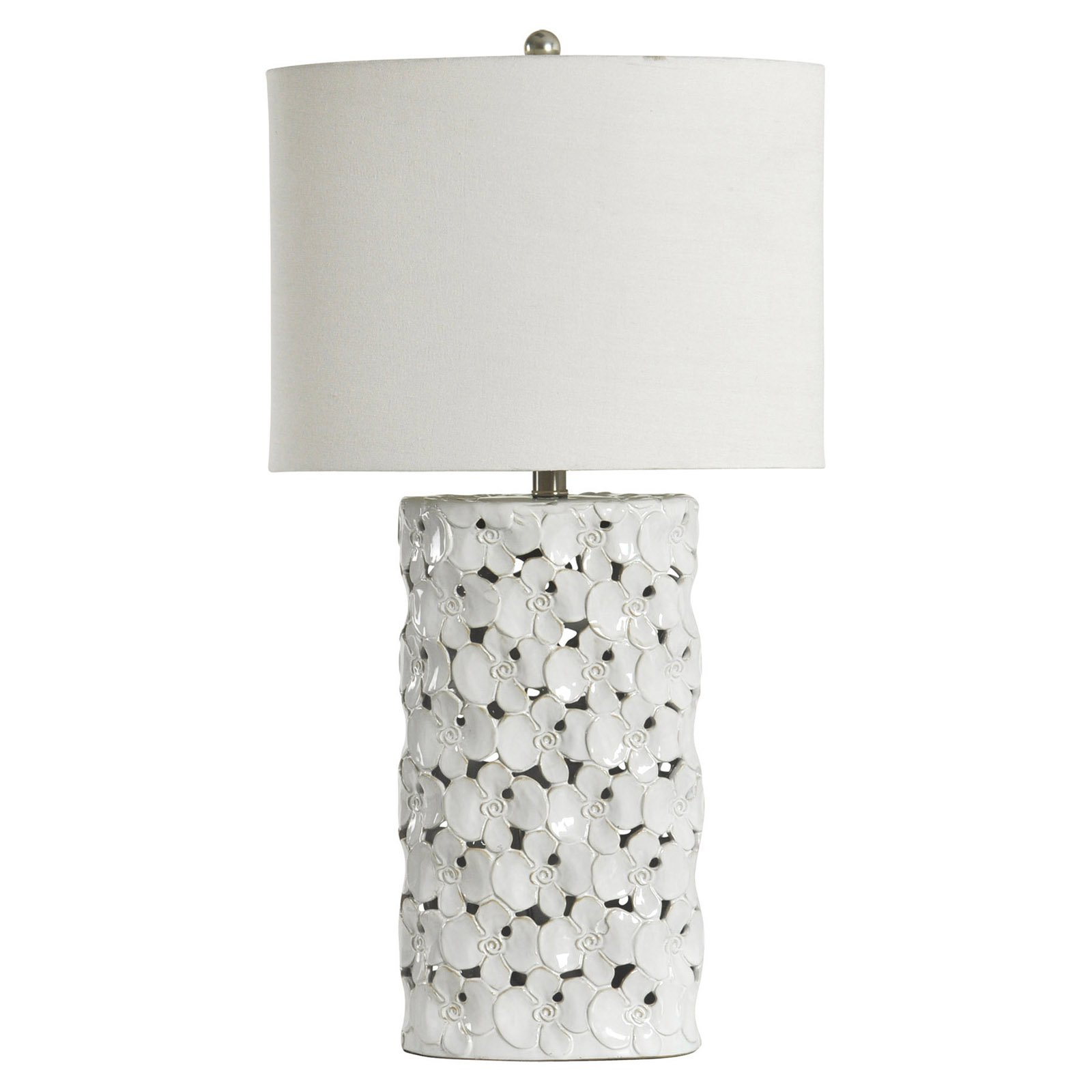 Stylecraft Halifax Ceramic Table Lamp With Images White Table Lamp Ceramic Table Lamps Lamp