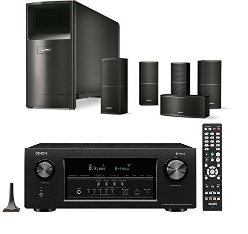 Bose Acoustimass 10 Series V Home Theater Speaker System Black With Denon Avrs930h Home Theater Speaker System Best Home Theater System Home Theater Speakers