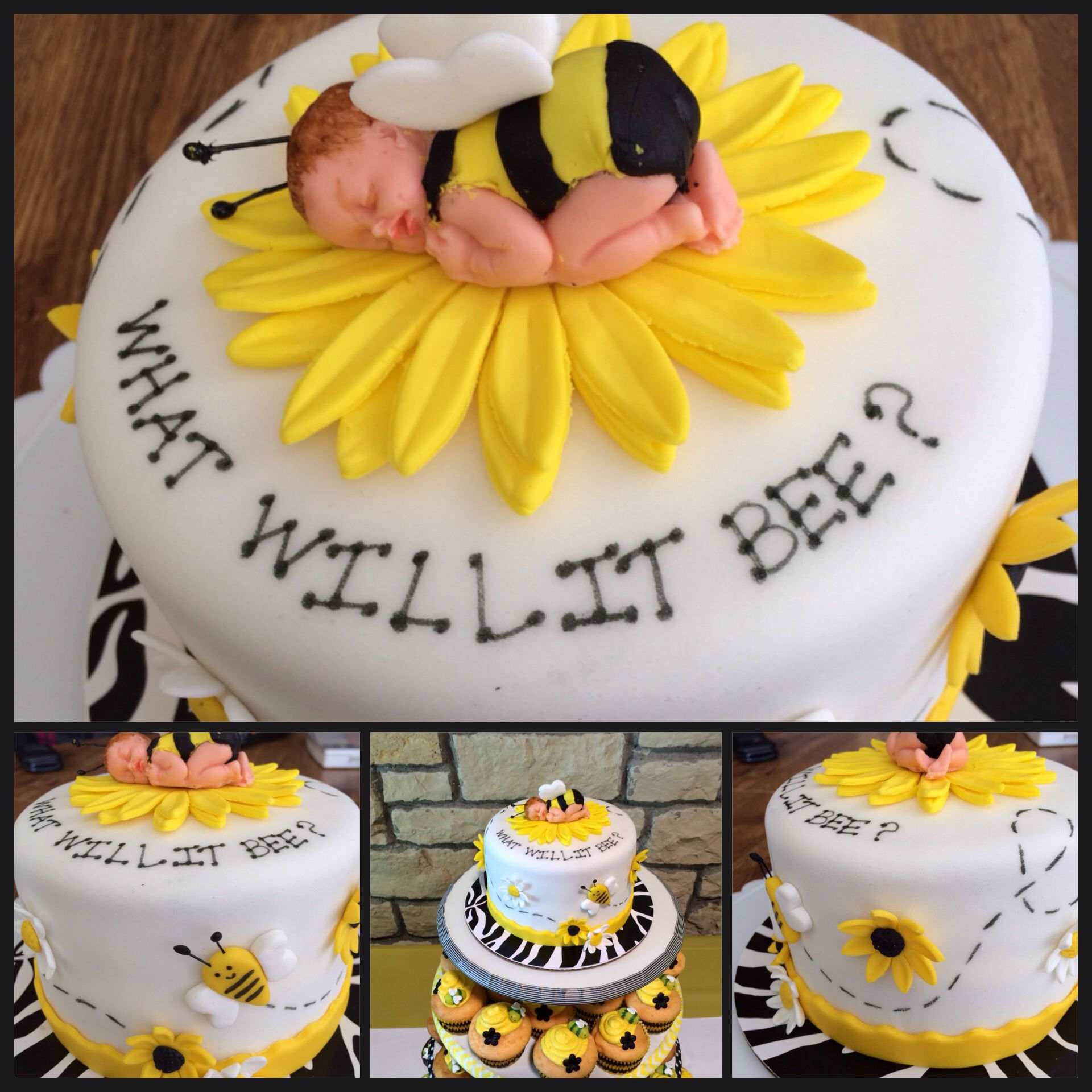 Mommy To Bee Cake Our Cakes And Babyshower