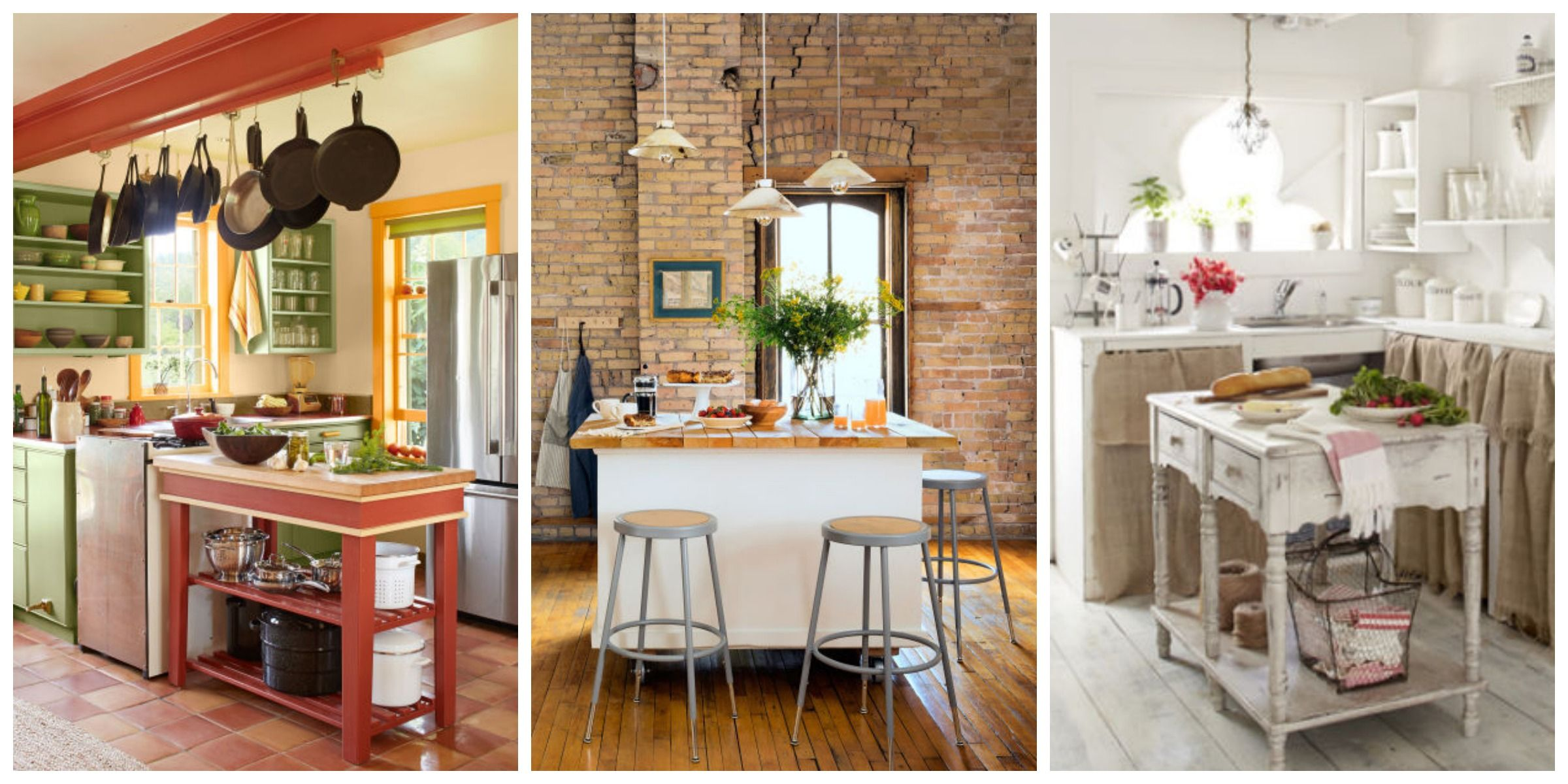 50 Great Ideas for Kitchen Islands