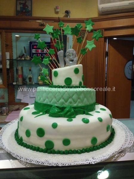 La pasticceria de vivo prepara per i 18 anni torte di ogni for Torte di compleanno particolari per uomo