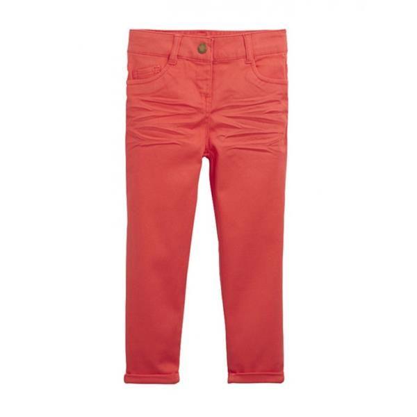 Детские брюки оранжевый цвет