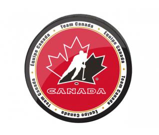 Hockey Canada Team Canada Primary Logo Viceroy Puck Canada Hockey Canada Team Canada
