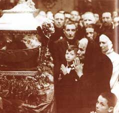 Canonization Of St Maria Goretti The Only Saint To Be Canonized