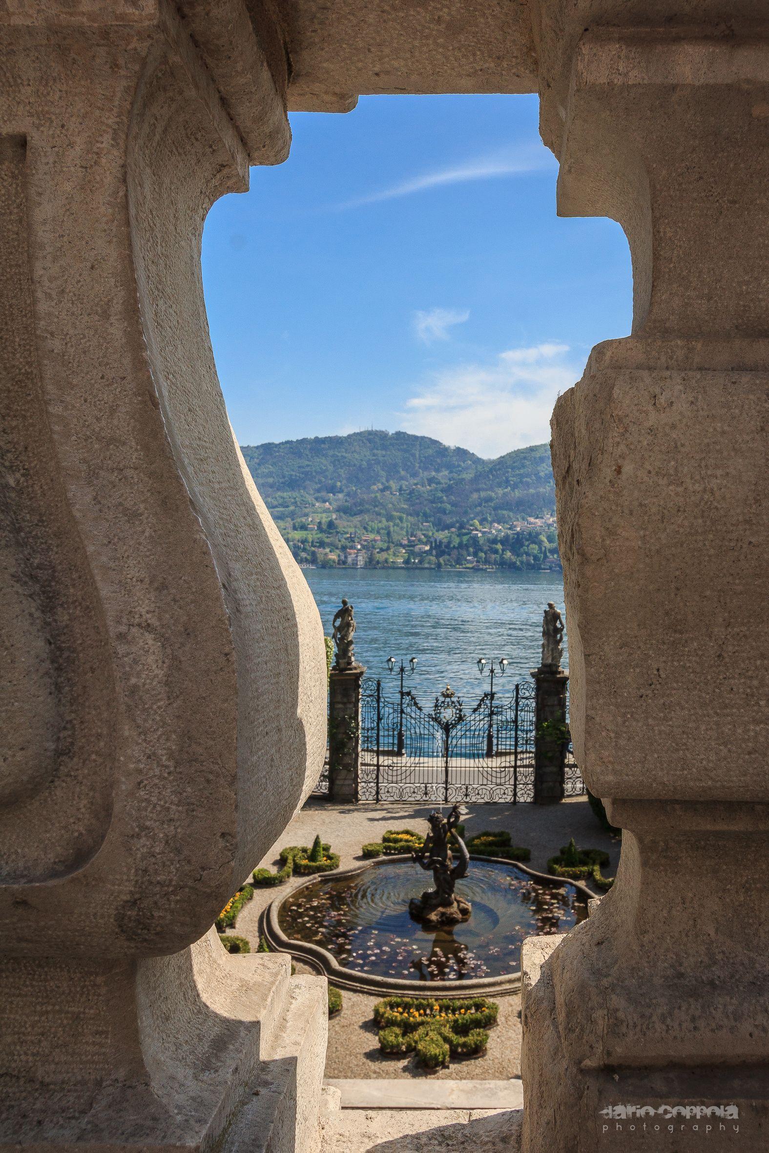 vista desde la ventana, Lake Como, Italy