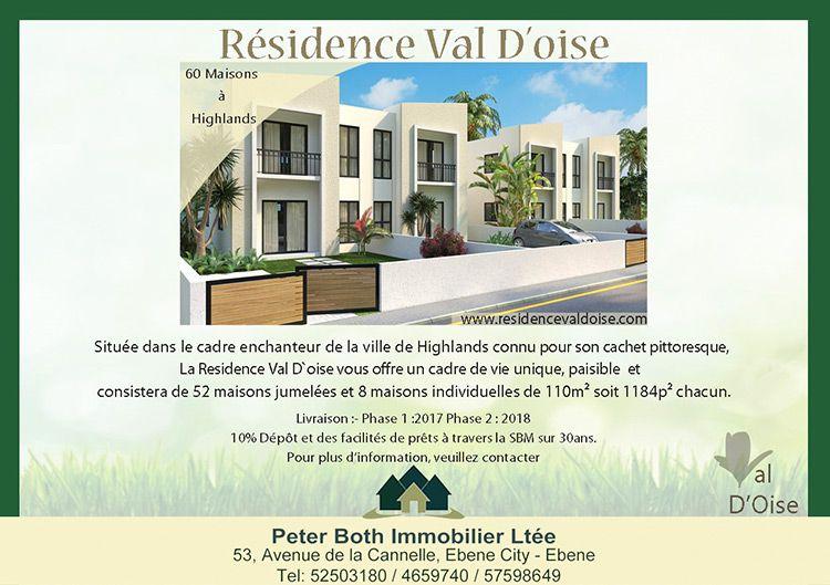 Peter Both Immobilier Ltee Residence Val D Oise Tel 52 50 31