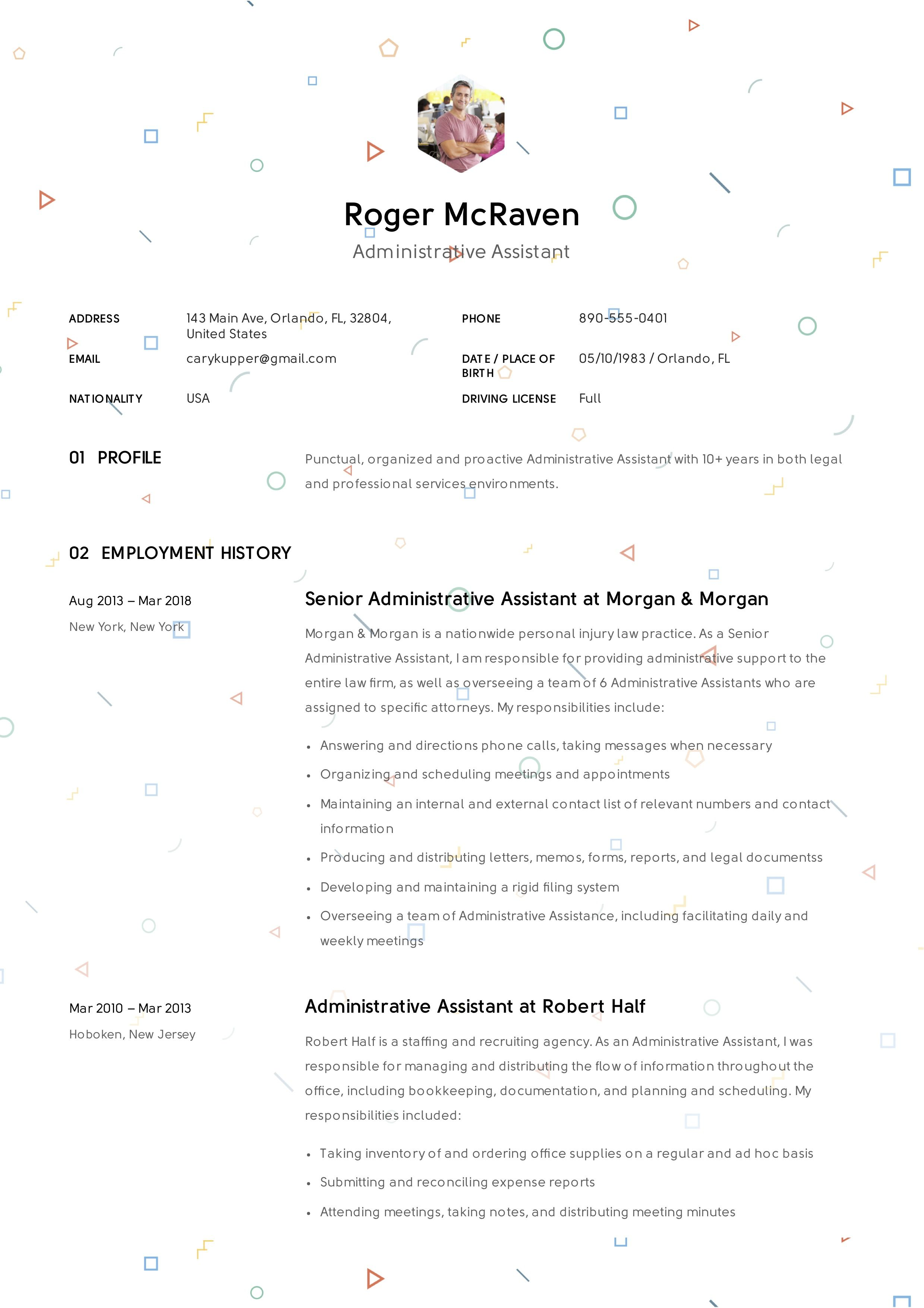 Resume Objectives For Administrative Assistant Prepossessing Free Administrative Assistant Resume S…  Administrative Assistant .