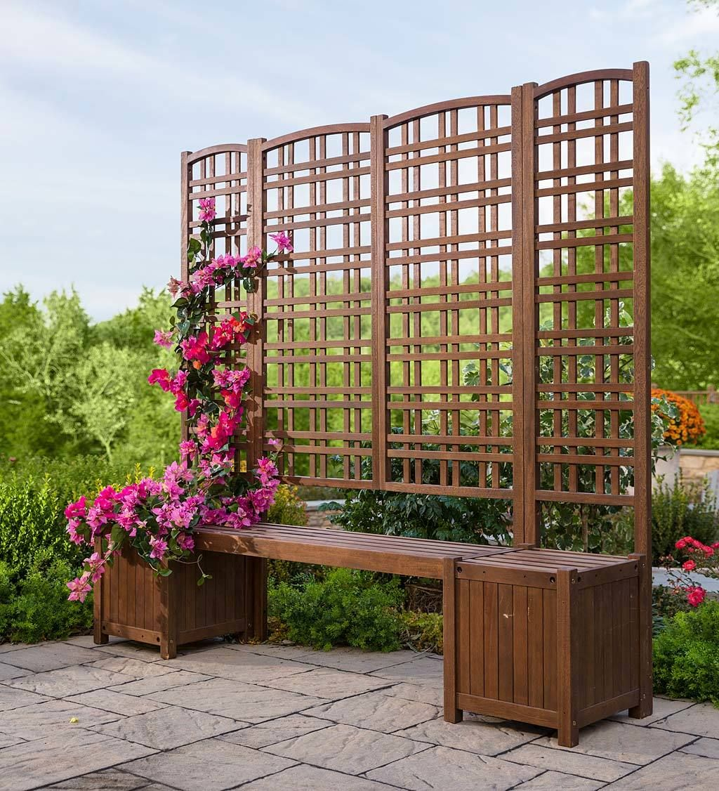 Eucalyptus Privacy Screen Trellises And Planters Privacy Trellis Outdoor Privacy Privacy Screen Outdoor