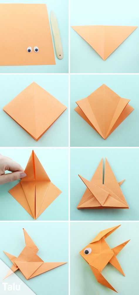 Photo of Origami fish fold out of paper – simple guide,  #fish #fold #Guide #origami #Origamipassoapas…