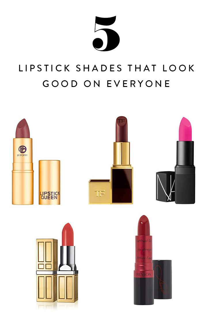 Flattering Lipstick Colors For All Skin Tones: 5 Lipstick Shades That Look Good On Everyone