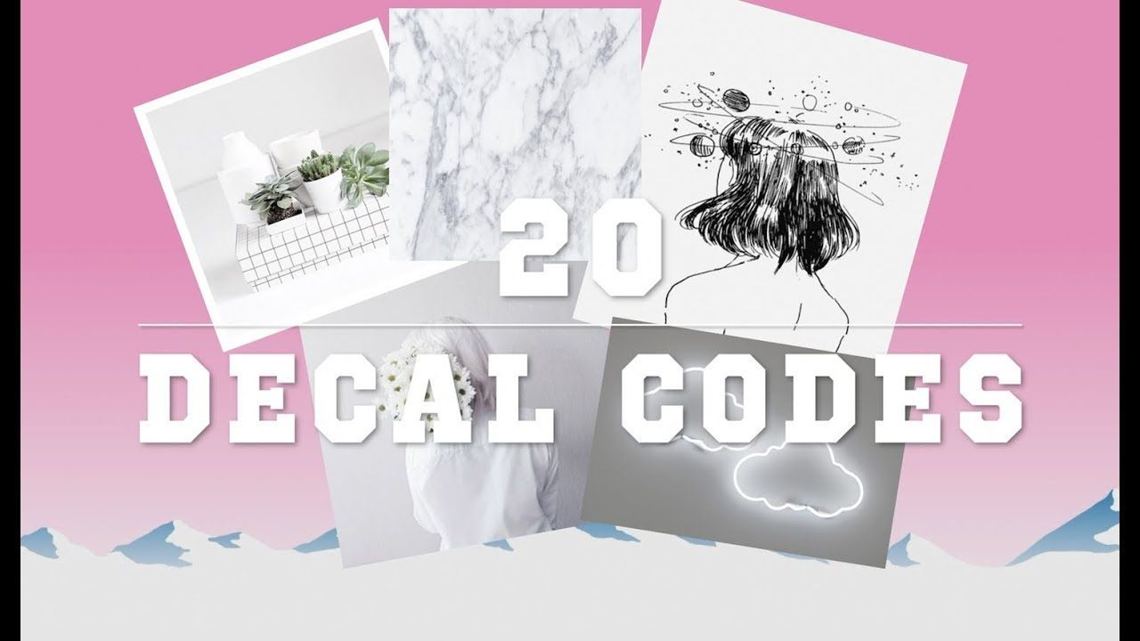 Source By Tonikabufford Aesthetic Bloxburg Codes Decal