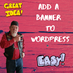 Easy To Add A Banner To Wordpress In 2020 Network Marketing Tips Wordpress Tutorials Network Marketing