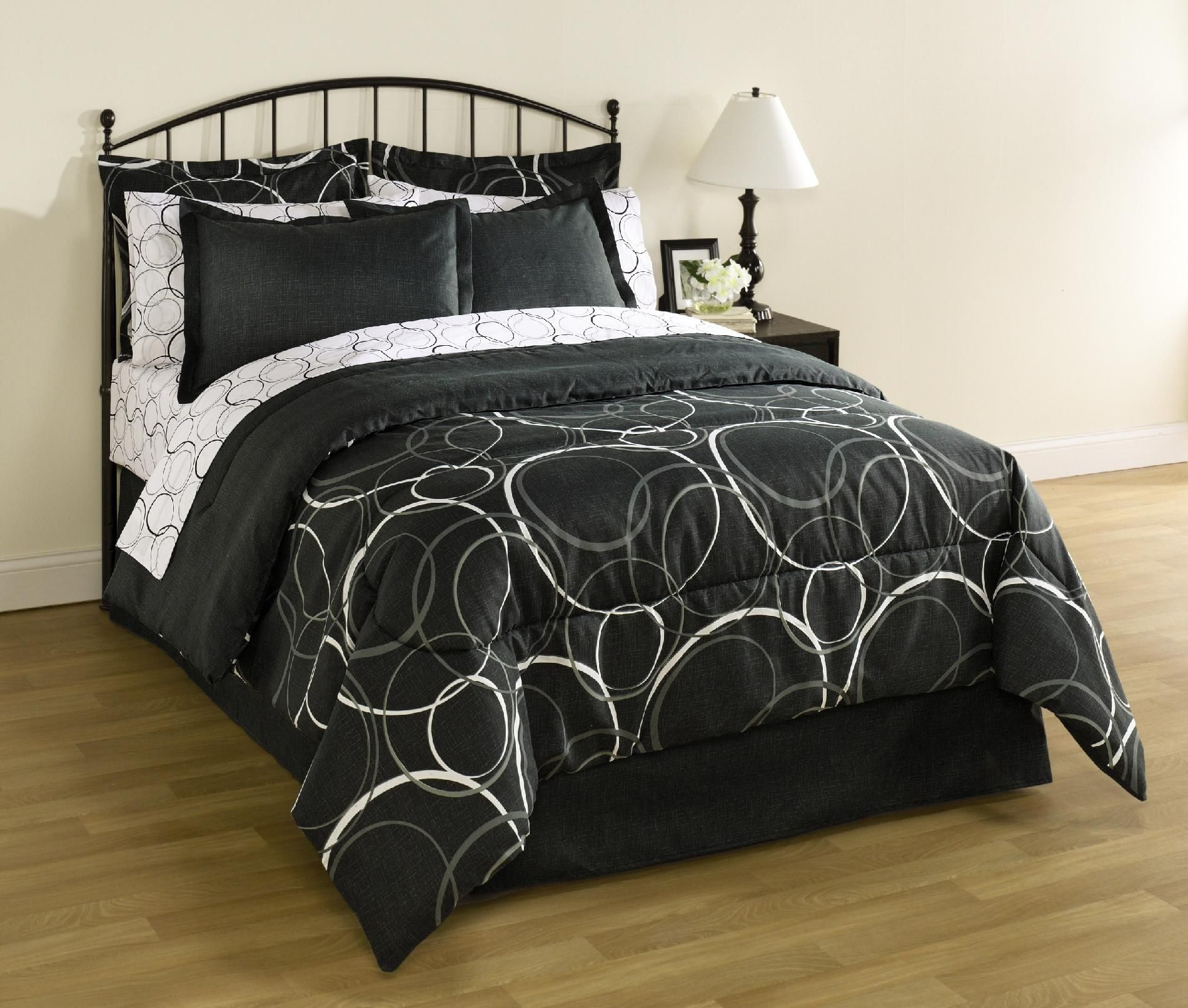 34 99 Twin Or Full Essential Home Complete Bed Sets Includes
