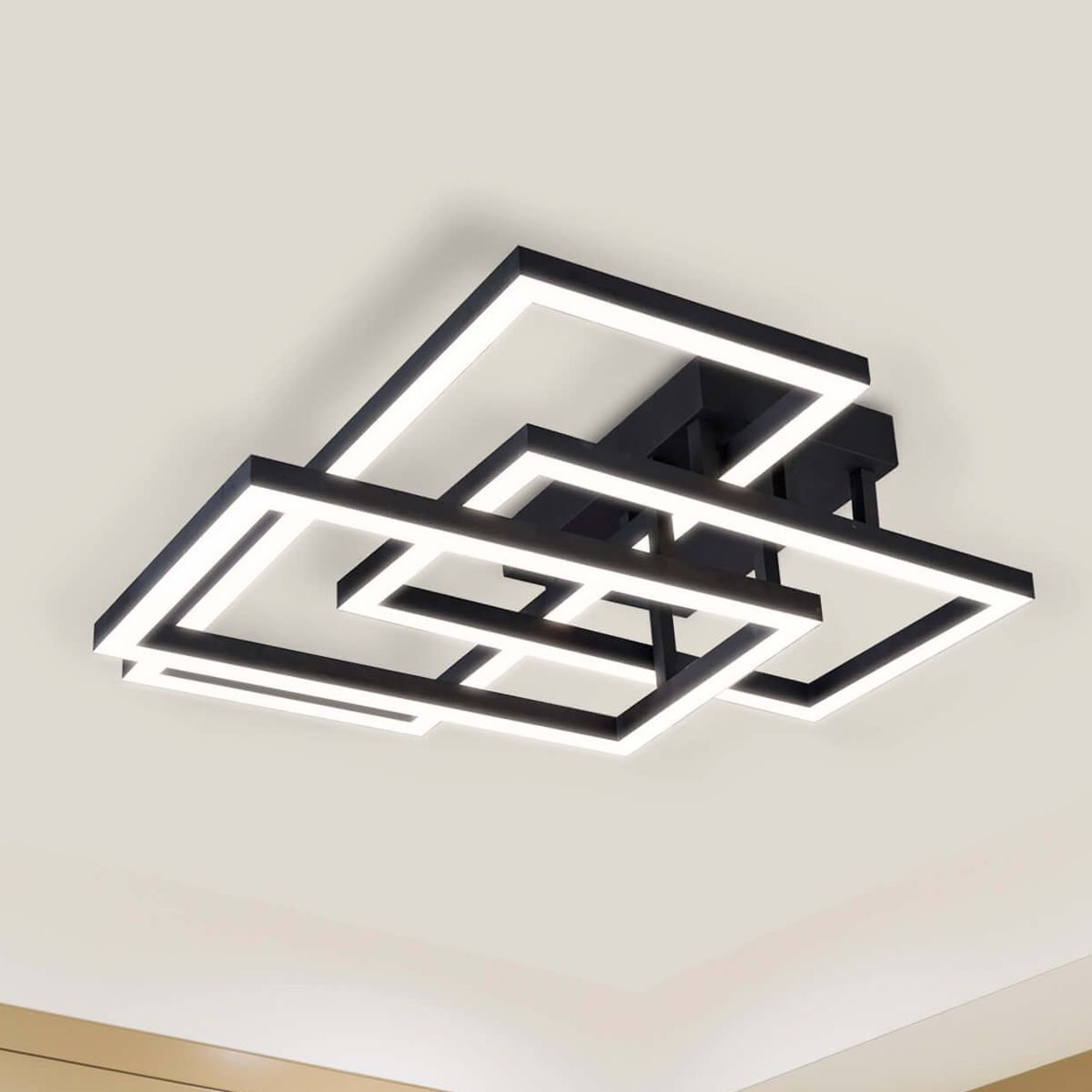 "radium vrcf49103bl 28"" integrated led rectangular ceiling light"