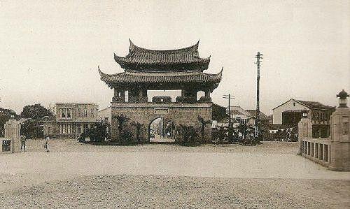 Asian primitive bridge building