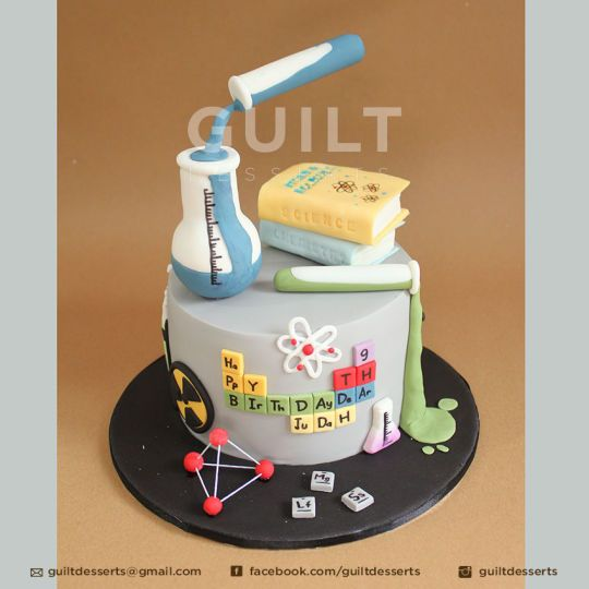 Chemistry Graduation Cakes