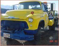 1956 Chevrolet 6500 4x4 Big I6 4sp Wrecker W Holmes 480 Bed Tow
