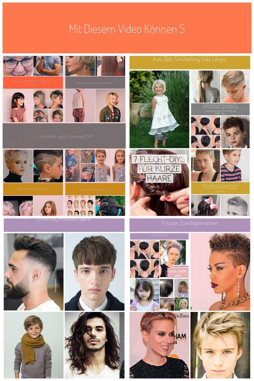 Mit Diesem Video Konnen Sie Ihr Haar Durch Stricken Leicht Formen Frisuren Kurzfrisuren Kurze Haarschnitte Geflochtene Frisuren Frisuren Kinderhaarschnitte
