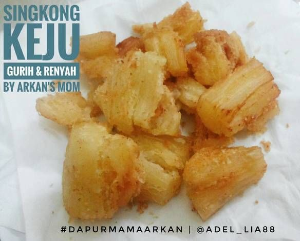 Resep Singkong Keju Gurih Dan Renyah Oleh Adhelia Setyowati Resep Resep Resep Makanan Makanan
