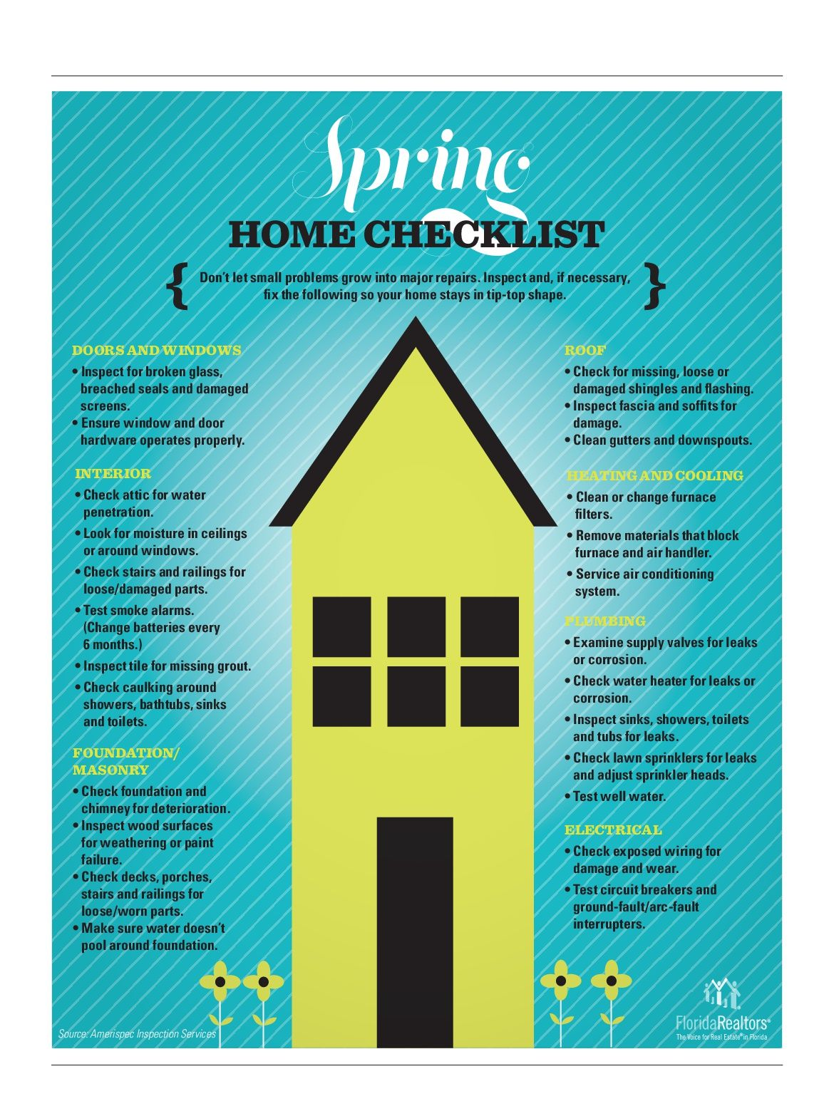 Just Some Helpful Hints For Everyone Please Visit My Website Www Hhosein Com And Click On The Tab For Sale New Construc Spring Home Checklist Spring Cleaning