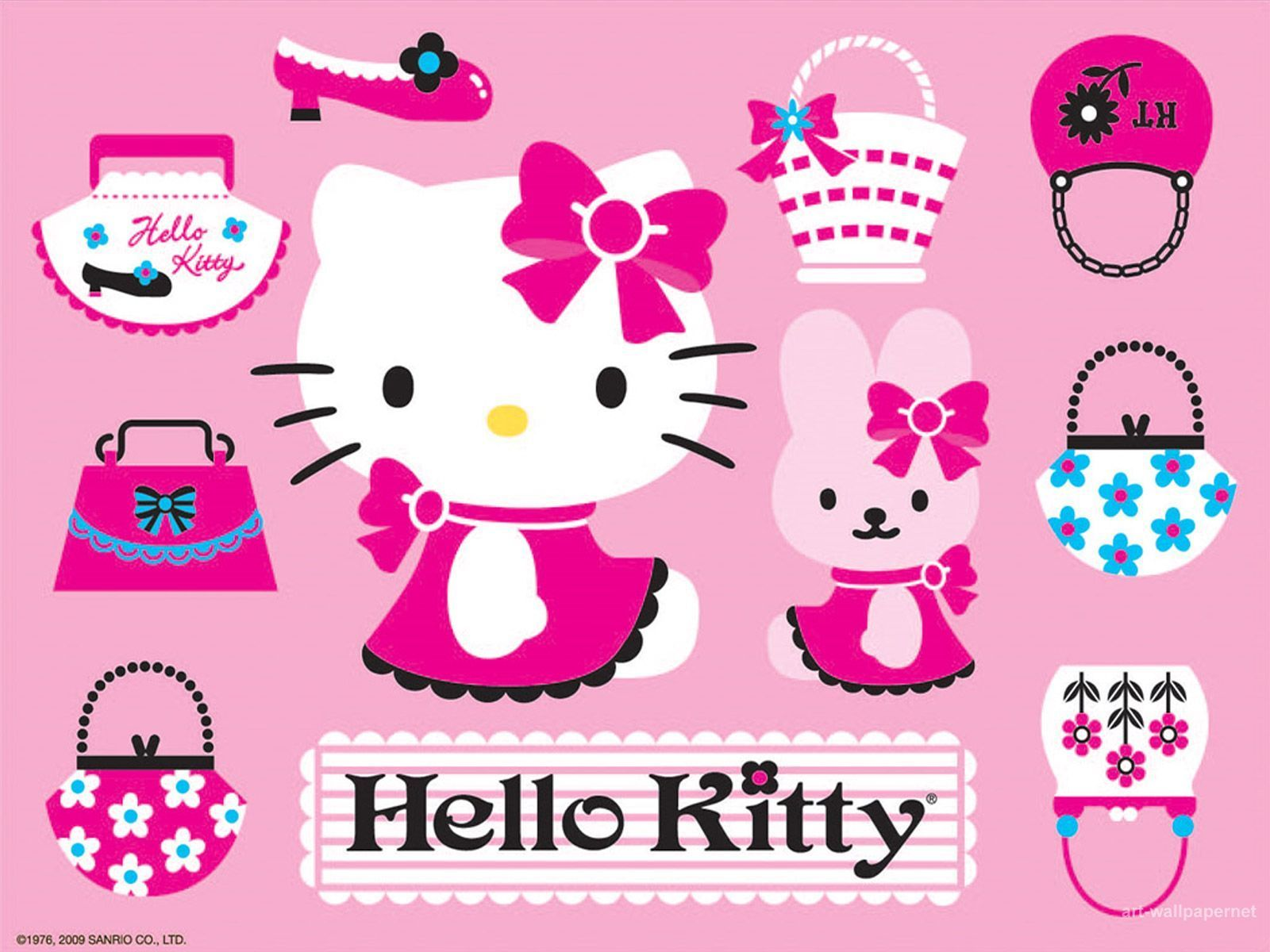 Download Gambar Wallpaper Hello Kitty Kampung Wallpaper