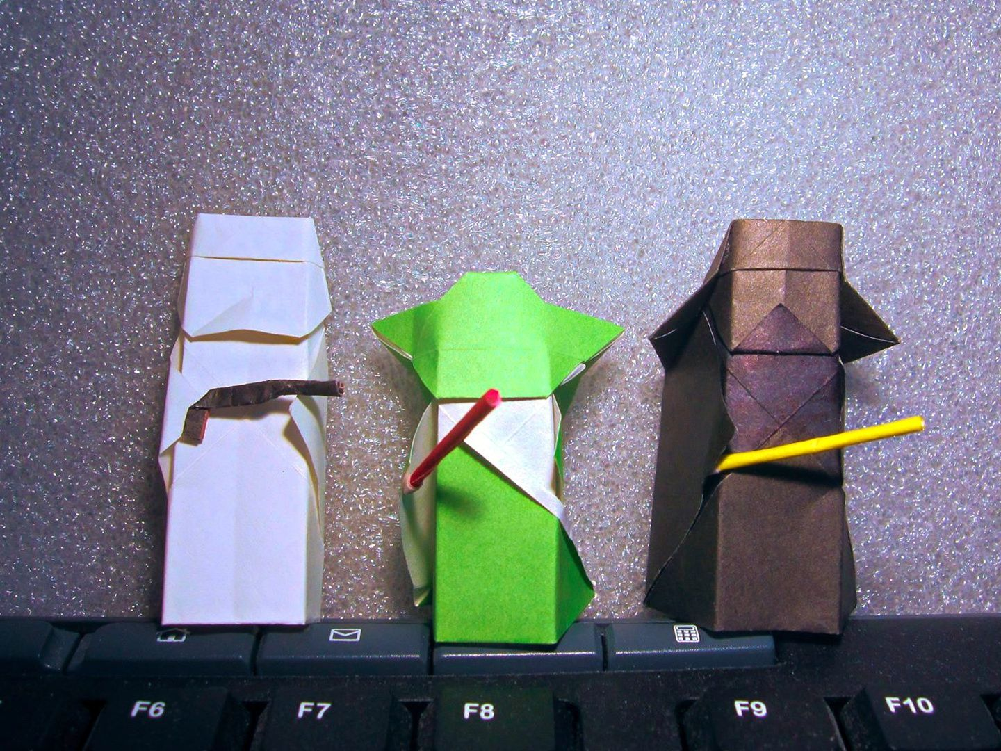 Sophy Folded Some Very Small Origami Star Wars Characters The 5