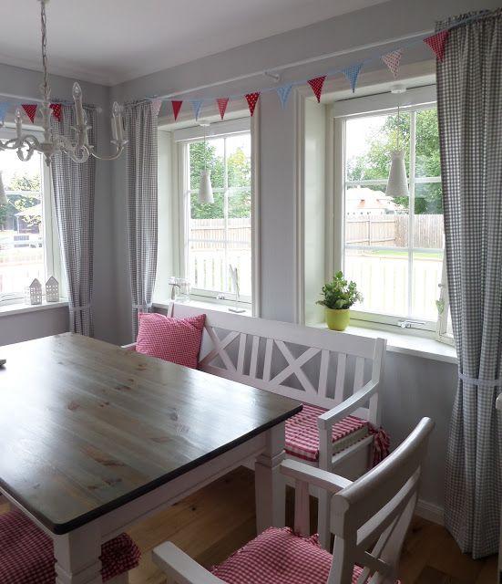 Kleine lotta unser schwedenhaus wimpelgirlande garten for Wohnen einrichtung deko