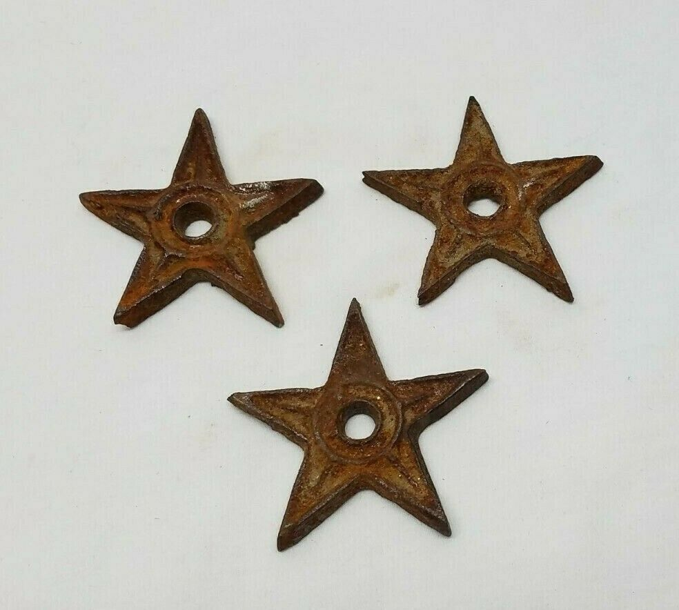 Iron Star Country Door Stoppers