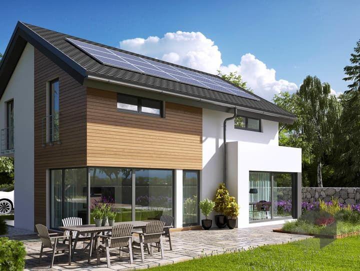 Hausbau modern satteldach  Belando von Büdenbender Hausbau| Satteldach-Klassiker| Satteldach ...