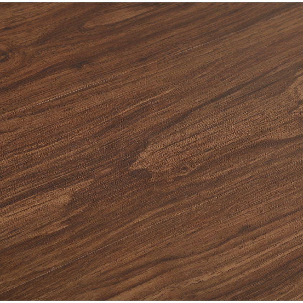 TrafficMASTER Allure In X In Dark Walnut Luxury Vinyl Plank - Durability of vinyl plank flooring