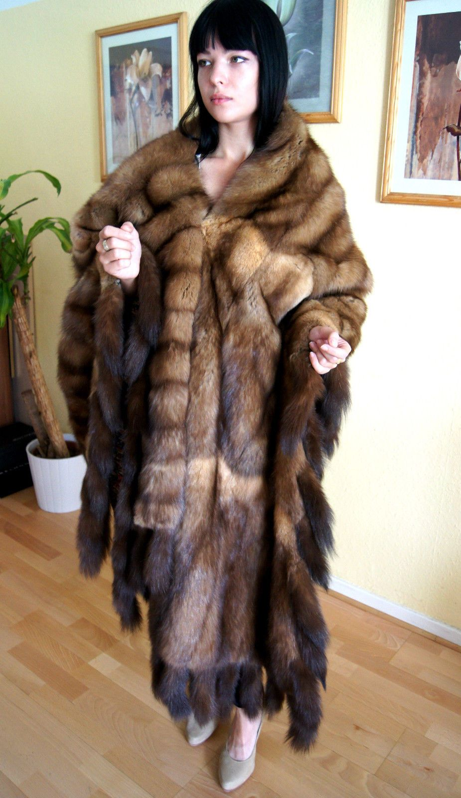 Pelzmantel Zobelmantel Zobelumhang Zobel sable fur coat zibellino ... for Sable Fur Cape  67qdu