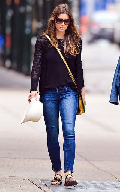 Jessica Biel....LOVE HER STYLE!!! Simply perfect!