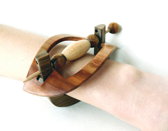 Wooden Bracelet, Women Bangle, Natural Jewelry ,Bangle Bracelet, Wooden Bead, Holiday Gift, Cuff Bracelet