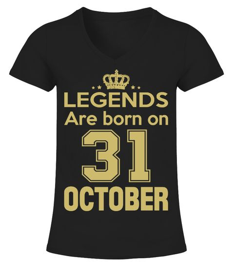 LEGENDS ARE BORN ON 31 OCTOBER