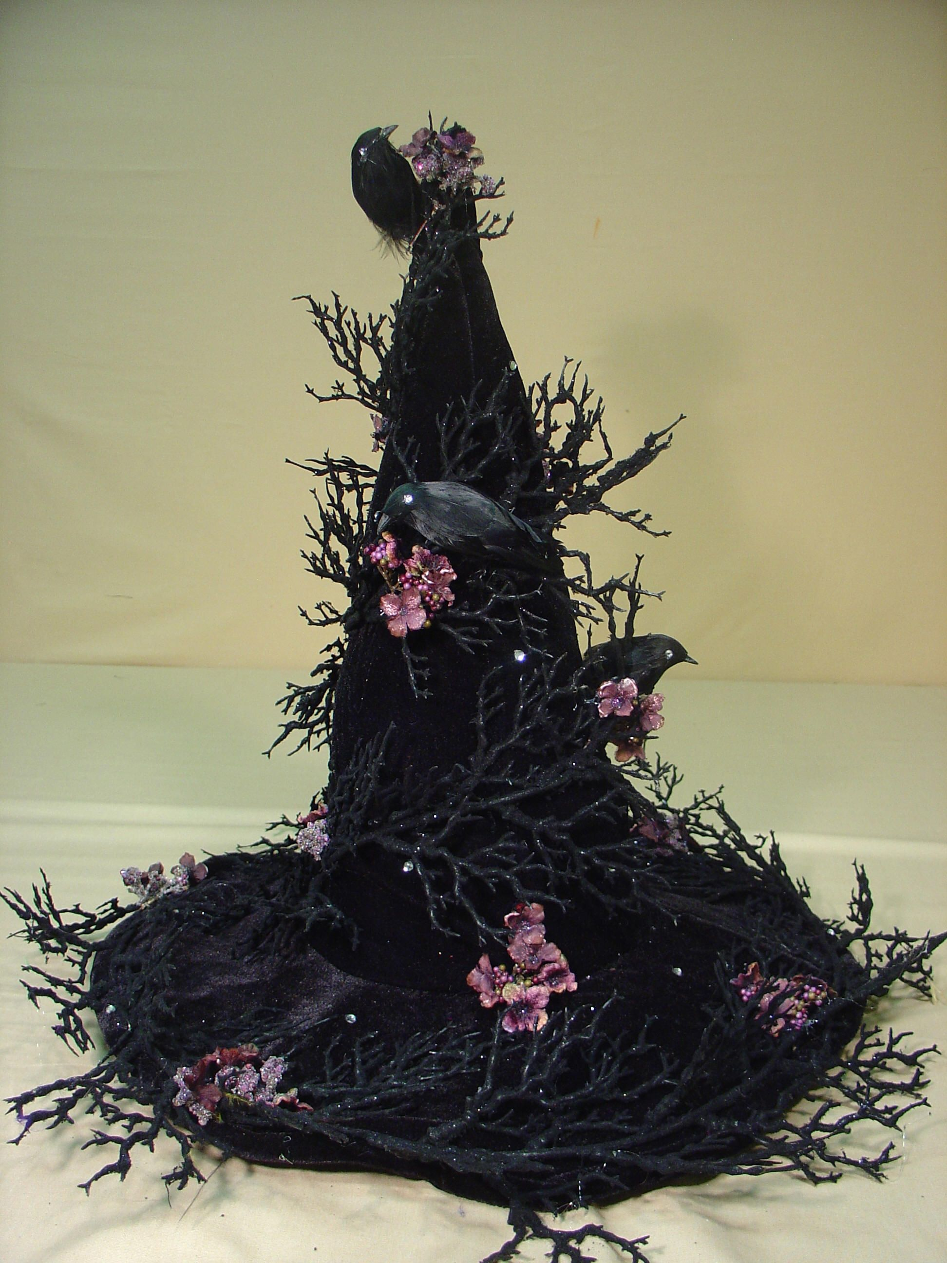 Witch Decorating Img6jpg 19442592 Pixels Halloween Witches Hats Pinterest