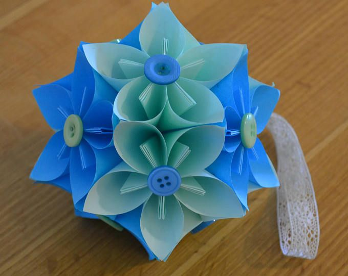 Origami paper ball kusudama in petals pinterest origami paper sale now on now half price with a further 25 off japanese kusudama origami paper flower ball mightylinksfo