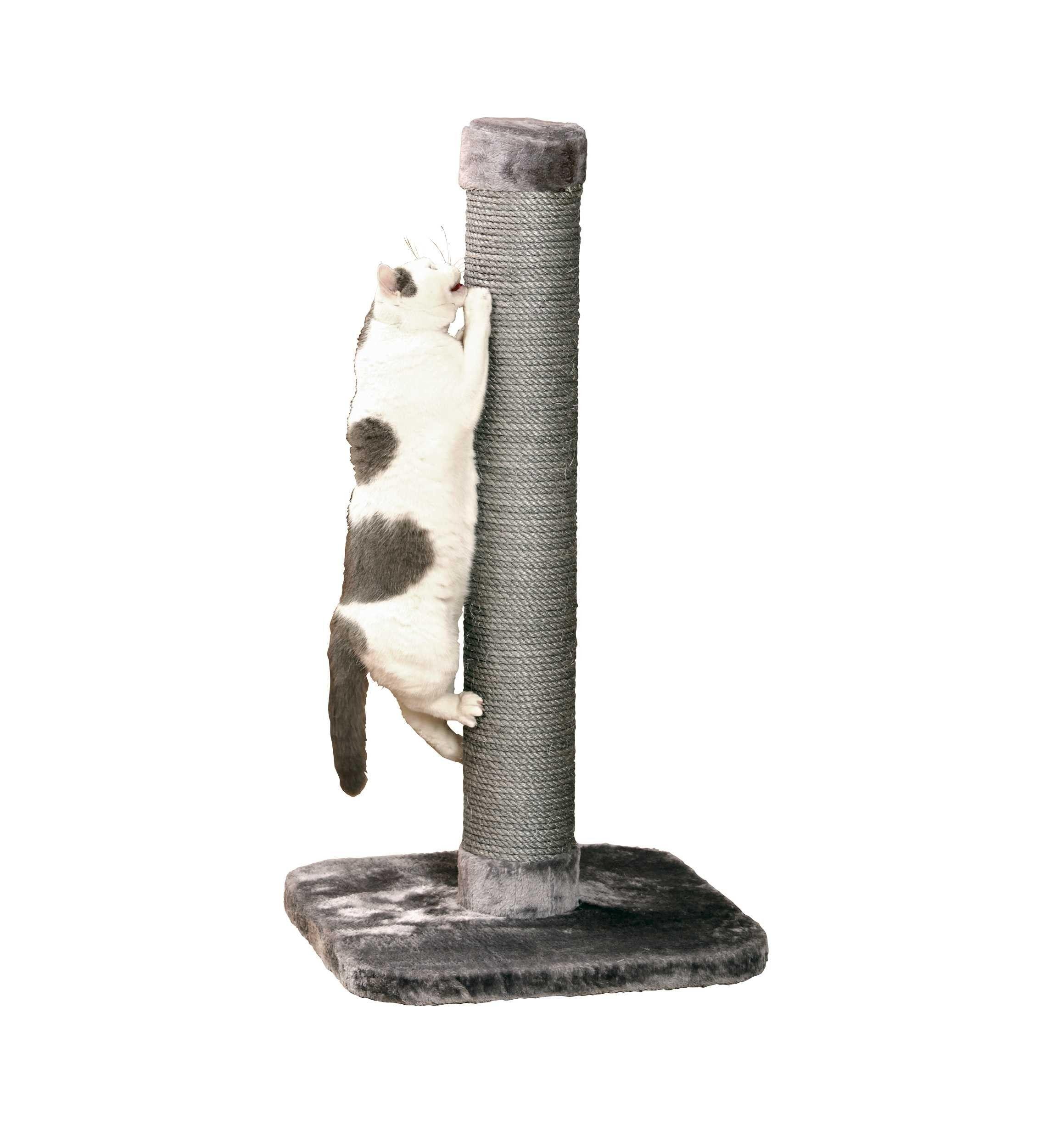 KARLIE BIG CAT krabpaal 56 X 56 X 119 CM, grijs kat