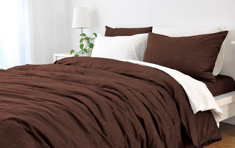 Cedar Linen Duvet Cover Dark Brown Bed Linens Luxury Gray Duvet Cover Linen Duvet Covers