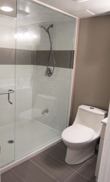 A Whopping 72 X 42 18288cm X 10668cm Shower Base Was Installed