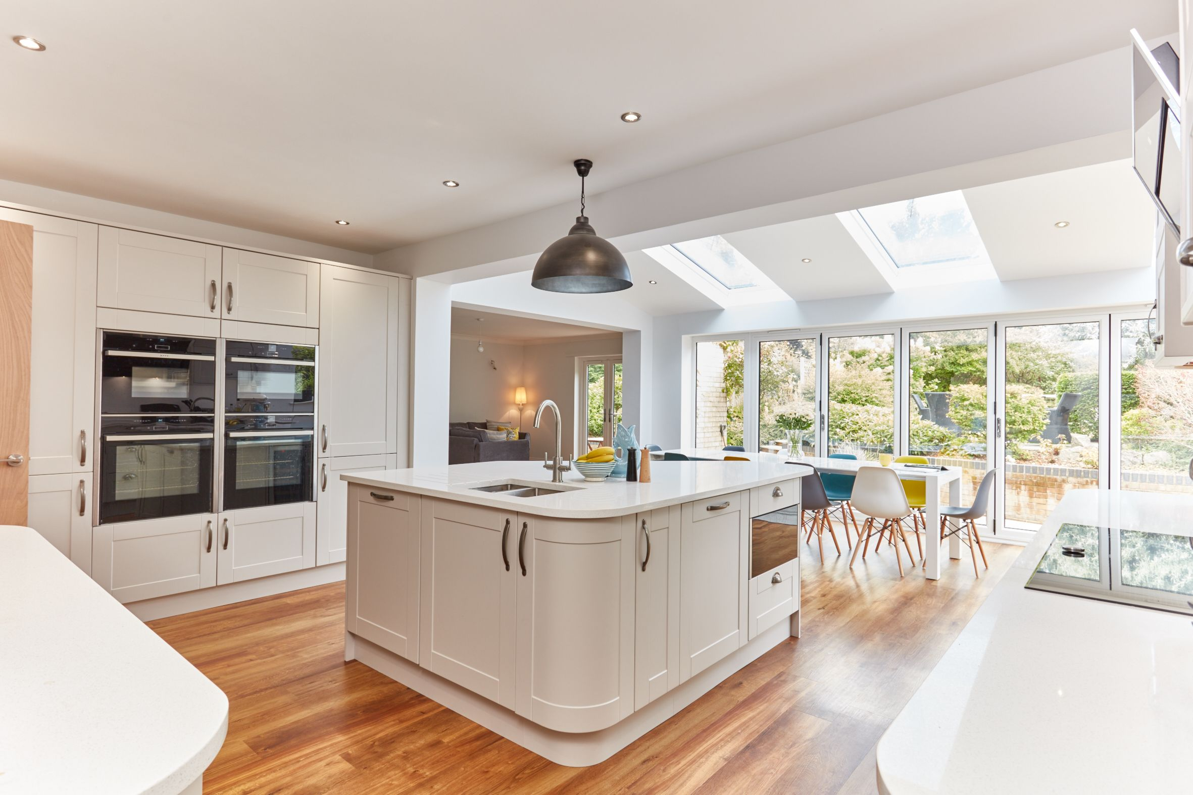 Pin by Anglian Home Improvements on Kitchens Open plan